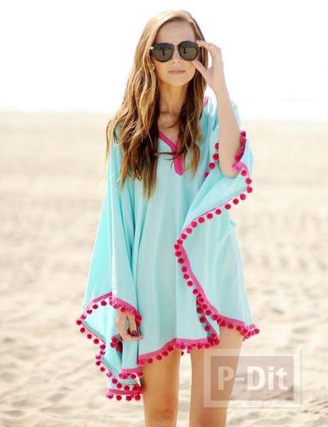 รูป 1 ไอเดีย ทำเสื้อคลุม เที่ยวทะเล แบบง่ายๆ