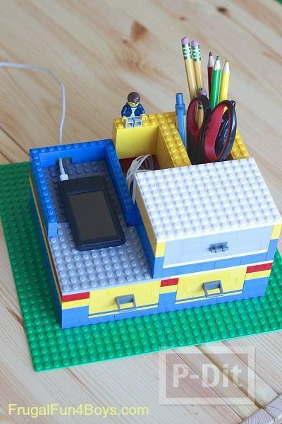 รูป 1 ไอเดียทำของใช้ จากชิ้นส่วนเลโก้