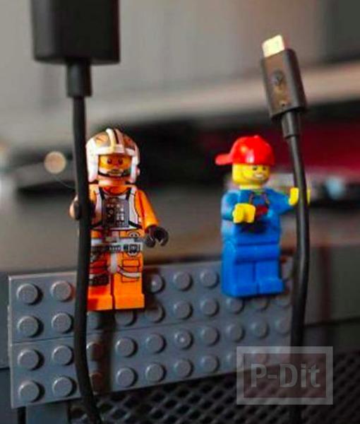 รูป 3 ไอเดียทำของใช้ จากชิ้นส่วนเลโก้