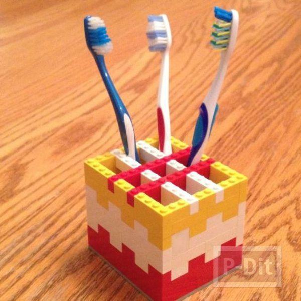 รูป 6 ไอเดียทำของใช้ จากชิ้นส่วนเลโก้
