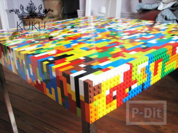 รูป 7 ไอเดียทำของใช้ จากชิ้นส่วนเลโก้