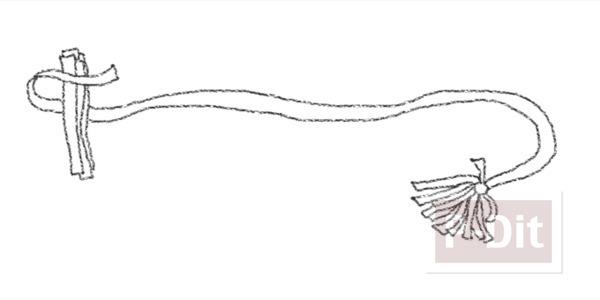 รูป 3 ไอเดียทำผ้าพันคอ จากเศษผ้า