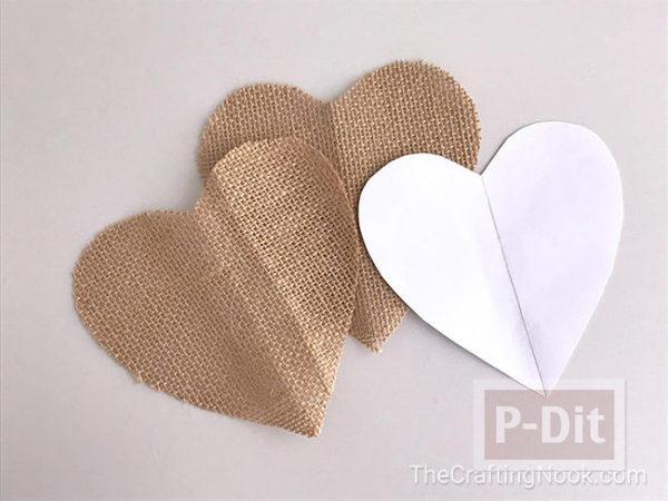 รูป 5 สอนทำของประดับต้นคริสต์มาส หัวใจกับดาว
