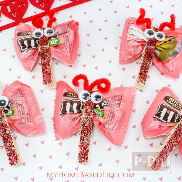 รูป 1 ทำขนมแจก แมลงปอส่งช็อคโกแลต น่ากิน
