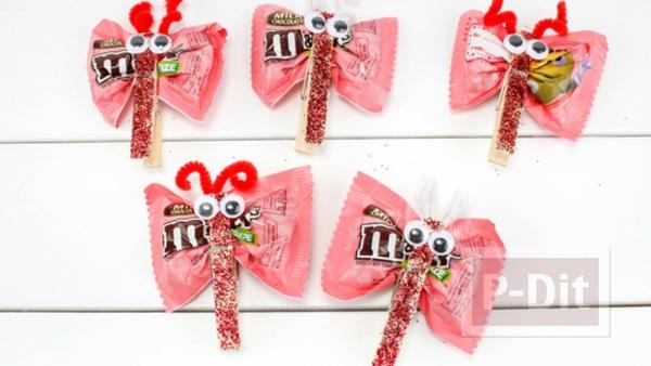 รูป 5 ทำขนมแจก แมลงปอส่งช็อคโกแลต น่ากิน