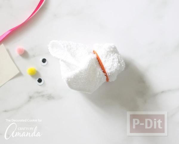 รูป 7 พับผ้าขนหนู ลายกระต่าย เป็ด น่ารักๆ