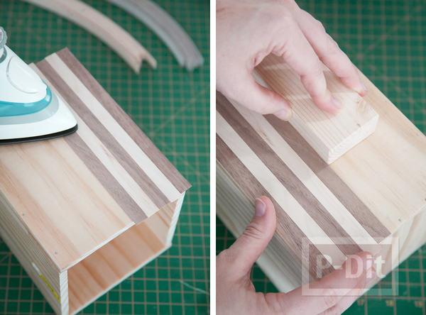 รูป 5 สอนทำกล่องใส่ตะหลิว ทัพพี ประดับครัว