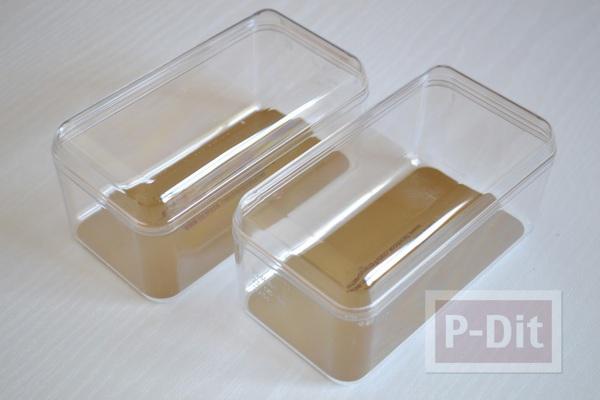 รูป 3 กล่องใส่ของกระจุกกระจิก ทำจากกล่องช็อคโกแลต