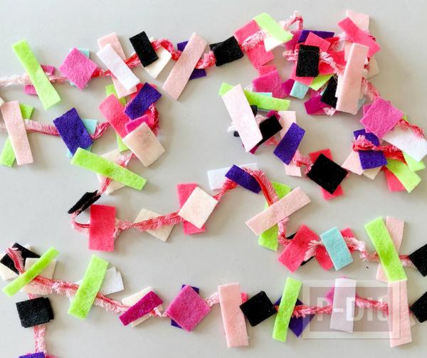 รูป 1 ไอเดียทำของประดับบ้าน จากผ้าสักกะหลาด