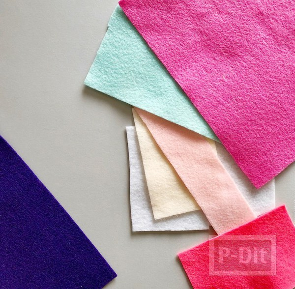 รูป 3 ไอเดียทำของประดับบ้าน จากผ้าสักกะหลาด