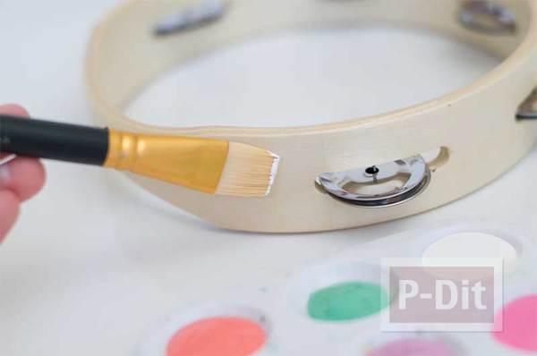 รูป 3 ระบายสีเครื่องดนตรี ให้มีสีสัน น่าใช้