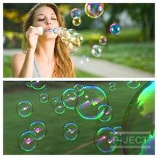 ทำฟองสบู่ เป่าเล่น (Bubble)