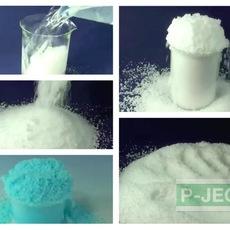 หิมะปลอม ทำจากโซเดียมโพลิอะคริเลต (sodium polyacrylate)