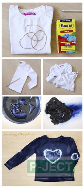 รูป 2 วิธี ย้อมสีเสื้อ ด้วยตัวเอง