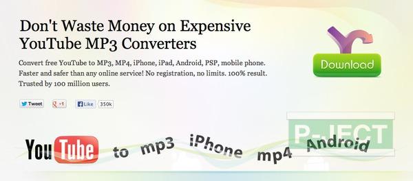 รูป 2 สอนแปลงไฟล์ YouTube ให้เป็น MP3