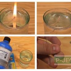 จุดเทียน ในน้ำ