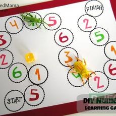 ทำกระดาน เล่นเกมส์คณิตศาสตร์ แบบง่ายๆ