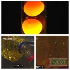 สอนทำโคมไฟลาวา ในขวด (Lava Lamp)