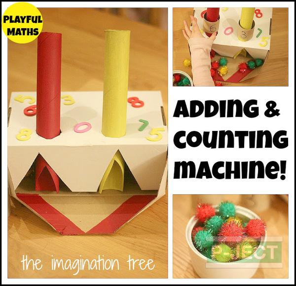 รูป 2 ไอเดียทำเครื่องบวกเลข (เกมส์คณิตศาสตร์)
