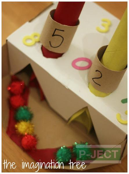 รูป 7 ไอเดียทำเครื่องบวกเลข (เกมส์คณิตศาสตร์)