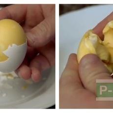 วิธีทำให้ไข่ขาวและไข่แดงผสมกัน ก่อนต้มสุก