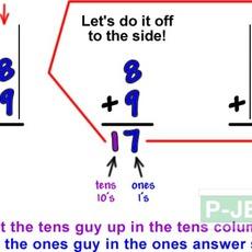 สอนบวกเลข 2 หลัก (สื่อการสอนคณิตศาสตร์)