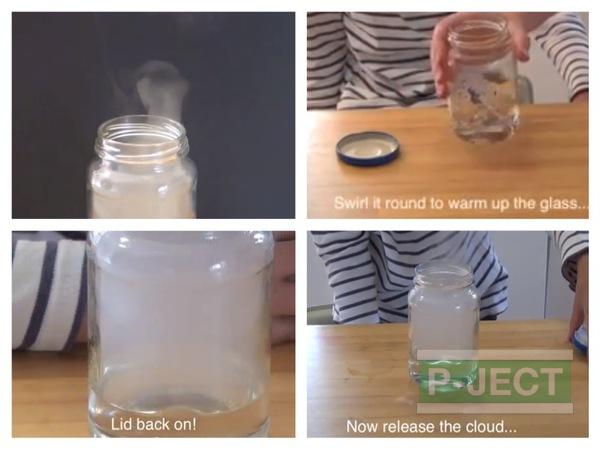 สอนทำควันในขวดแก้ว