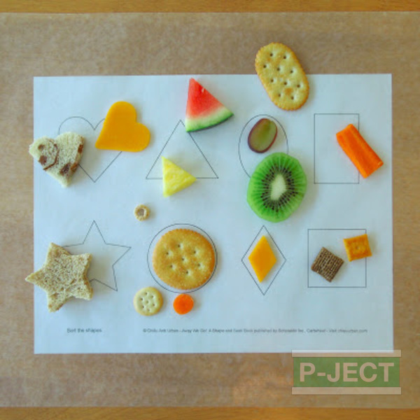 เรียนรู้รูปทรงคณิตศาสตร์ จากของกิน