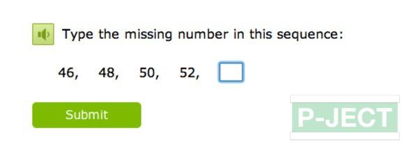 รูป 2 เติมตัวเลข ในช่องที่หายไป (คณิตออนไลน์)