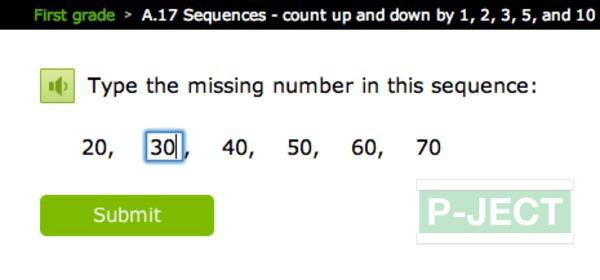 รูป 3 เติมตัวเลข ในช่องที่หายไป (คณิตออนไลน์)