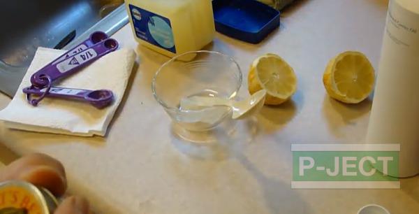 รูป 2 สอนทำครีมทาผิว ผสมน้ำมะนาว