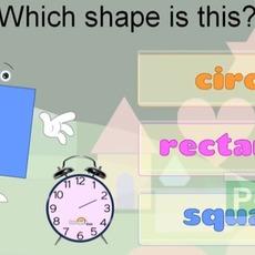 สอนรูปทรง จากคลิปวีดีโอ (คณิตศาสตร์)