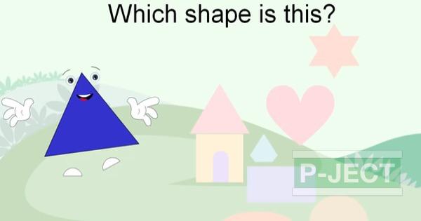 รูป 6 สอนรูปทรง จากคลิปวีดีโอ (คณิตศาสตร์)