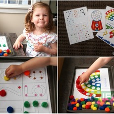 เกมส์สอบนับจำนวน จากปอมๆหลากสี