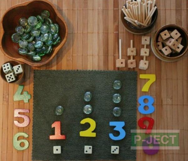 จำนวน ตัวเลข เรียนรู้ จากของใกล้ตัว