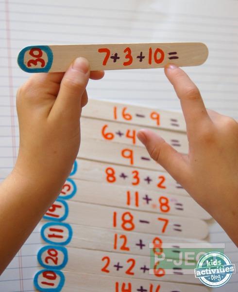 รูป 1 สอนบวกเลข จากเกมส์