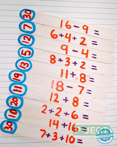 รูป 3 สอนบวกเลข จากเกมส์