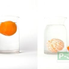 การทดลอง ส้มลอยน้ำ ส้มจมน้ำ