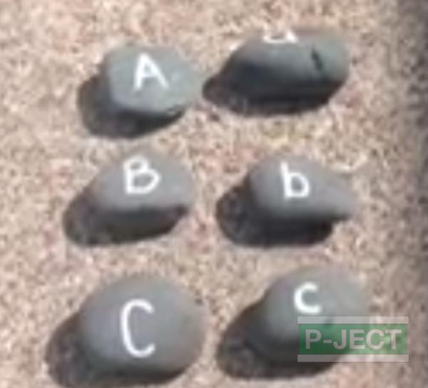 รูป 2 สอนภาษาอังกฤษ จากก้อนหิน