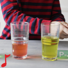 ทำเสียงดนตรี ผ่านน้ำในแก้ว