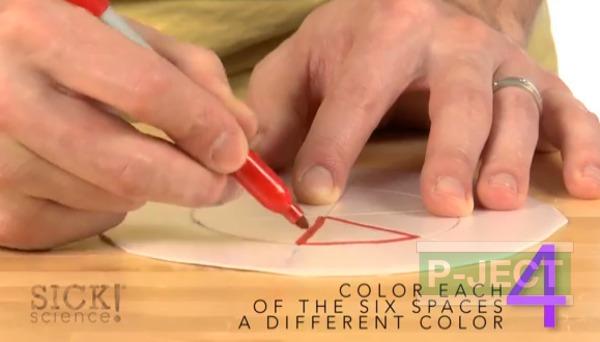 รูป 7 สอนทำของเล่นสนุกๆ วงล้อ หลากสี