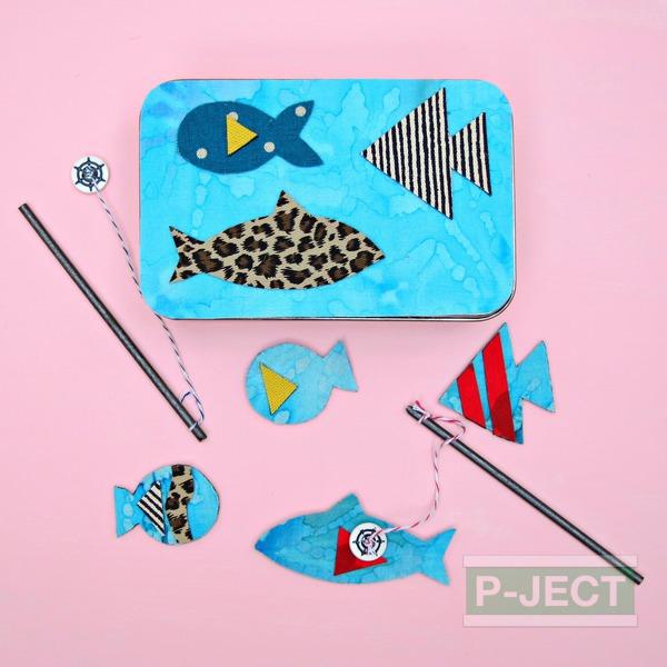 รูป 2 เกมส์ตกปลา ทำจากแม่เหล็ก