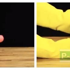 สิ่งประดิษฐ์วิทยาศาสตร์ ลูกบอลเด้ง ทำเอง