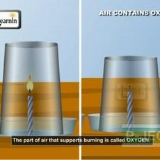 ทำการทดลองสนุกๆ ออกซิเจน ช่วยไฟติด