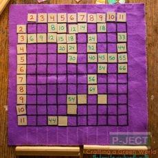 เกมส์คณิตศาสตร์ แม่สูตรคูณ