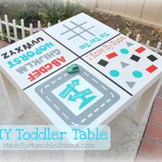 โต๊ะสำหรับ เสริมพัฒนาการเด็ก