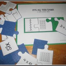 เรียนคณิต กับเกมส์ ต่อจิ๊กซอ