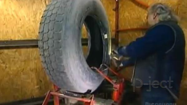 รูป 2 โรงงานทำยางรถยนต์ หล่อยางเก่า นำมาใช้ใหม่
