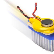 แปรงสีฟันหุ่นยนต์ หมุนไปมา