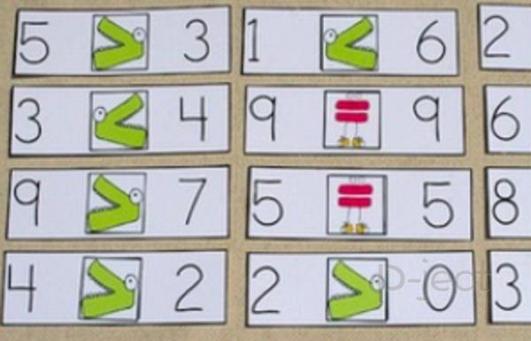 รูป 3 มากกว่า น้อยกว่า เรียนคณิต คิดสนุก